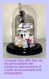 Unusual baby gifts, personalized baby gifts